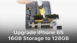 Upgrade iPhone 6S 16GB Storage to 128GB thumbnail