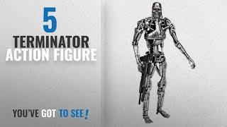 Top 10 Terminator Action Figure [2018]: NECA Classic Terminator Scale Endoskeleton in Window Box