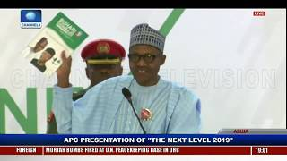 The Next Level: We Have Worked Hard To Fulfil Our Promises - Buhari thumbnail