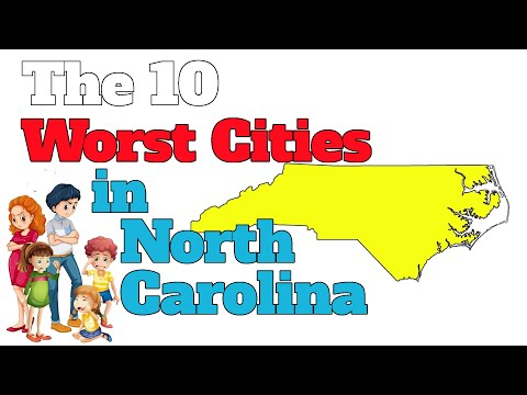 The 10 Worst Cities In North Carolina Explained