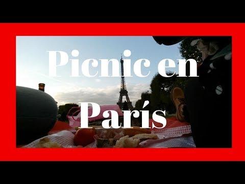 Un Picnic en PARÍS. Lo más romántico que hacer en PARÍS por 15 euros.