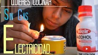 Quieres Cocinar Sin Gas Y Sin Electricidad Casi Nos Quemamos The Latinshow Youtube