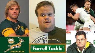 "Rassie Erasmus coaching the ""Farrell Tackle"" & Faf De Klerk is back!"