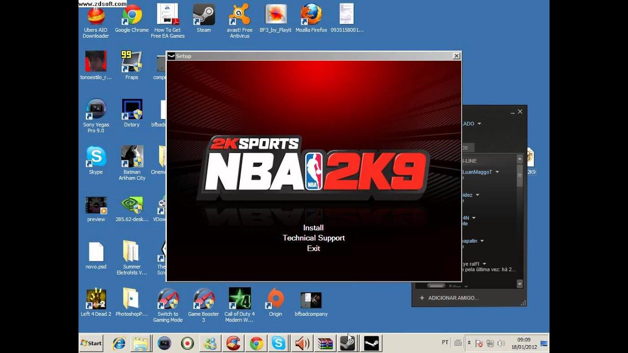 DEMO GRÁTIS 2K9 NBA DOWNLOAD