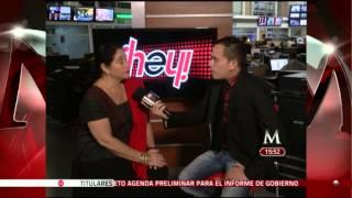 Angelica Aragon en entrevista para ¡Hey! - Milenio Televisión