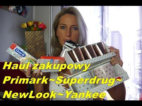 Haul zakupowy❤ Primark- Superdrug,-Newlook,-YankeeCandle ❤