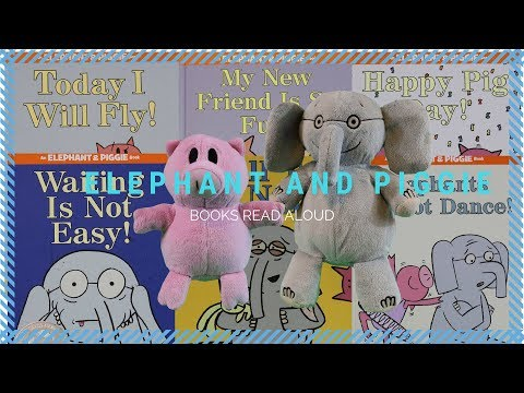 Mo Willems Books Read Aloud Elephant and Piggie | Story Time for Kids