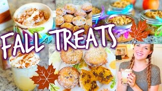 Easy DIY Fall Treats & Drinks! Thumbnail