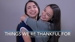 Things We're Thankful For - Merrell Twins