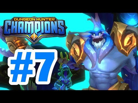 FATHOM BOSS FIGHT! Board 5 + Board 6 FULL Clear! - Dungeon Hunter Champions Walkthrough #7