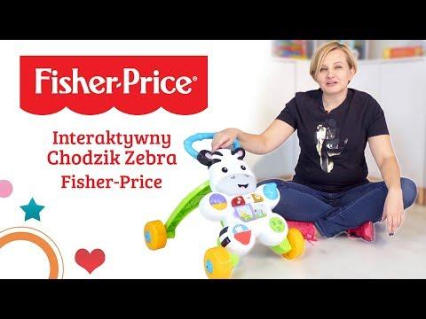 Interaktywny Chodzik Zebra, Fisher Price