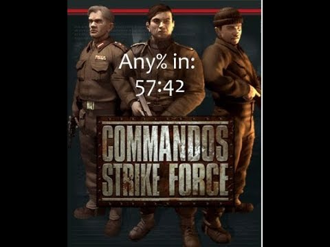 Commandos: Strike Force Speedrun Any% (Easy) In 57:42