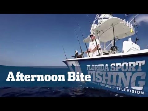 Florida Sport Fishing TV - 2015 Highlights Video Afternoon Kite Fishing Bite