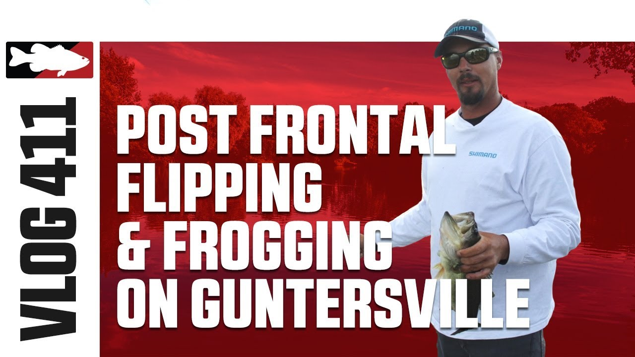 Jared Lintner and Alex Davis Flippin and Froggin' on Guntersville Pt. 3 - Tackle Warehouse VLOG #411