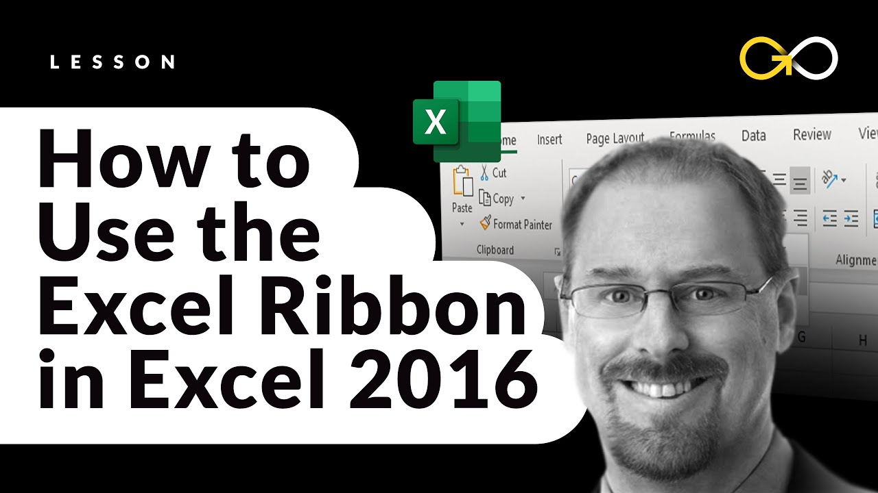 How to Use the Excel Ribbon | Excel 2016 Tutorial
