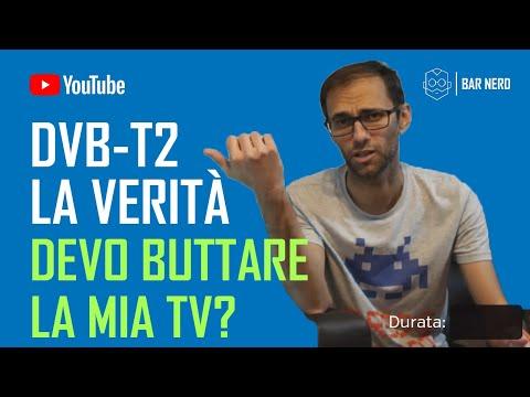 DVB-T2 [NUOVO DIGITALE TERRESTRE] - La nostra TV è compatibile?