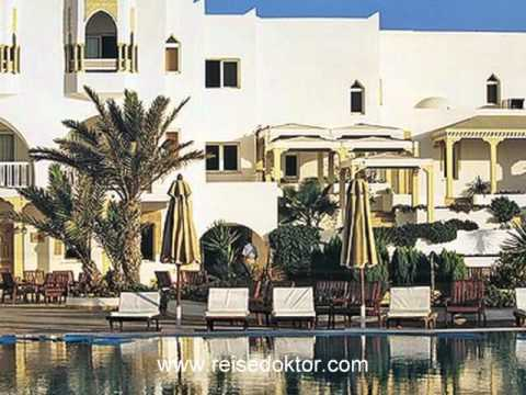 Djerba: 4* Hotel Palm Beach Palace, direkt am Strand