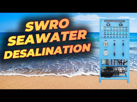 Small size SWRO Reverse Osmosis Seawater Desalination Purification System for Yatch, Boat, House