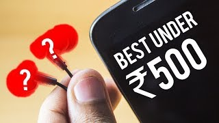 Video BEST Budget Earphones Under 500 Rupees ? Sound Test ! download MP3, 3GP, MP4, WEBM, AVI, FLV Maret 2018