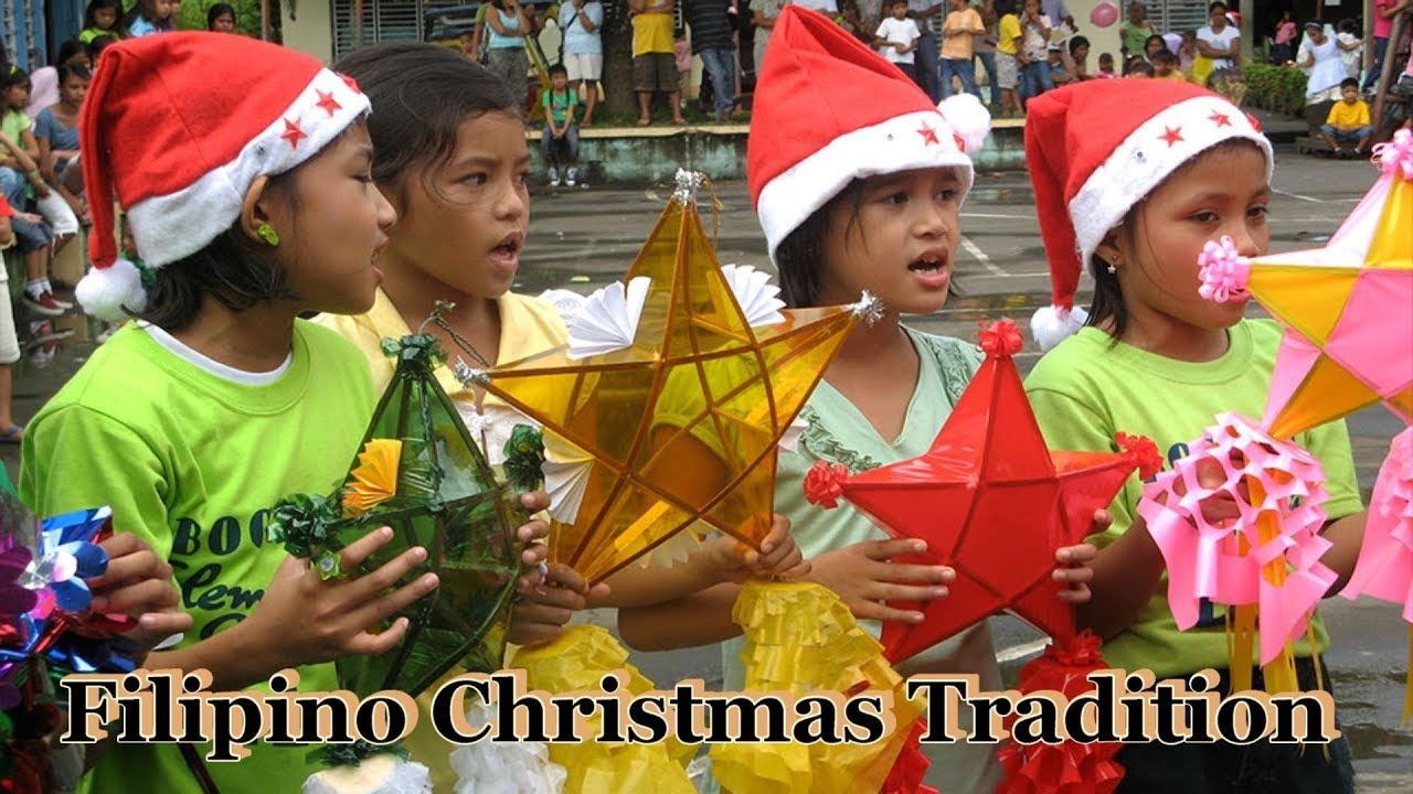 Christmas Caroling.Christmas Caroling Is A Part Of The Filipino Christmas Tradition