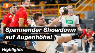 Spanien - Deutschland - Highlights | Handball-WM 2021 - ZDF