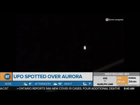 UFO spotted over Aurora!