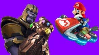 Mario Kart 8 Deluxe Thanos Mode