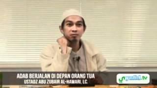 Ceramah Agama Islam - Adab Berjalan di Hadapan Orang Tua [Jepang]