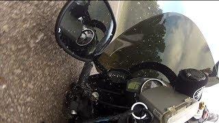 Yamaha R6 Highside Crash at Johor Circuit, Pasir Gudang