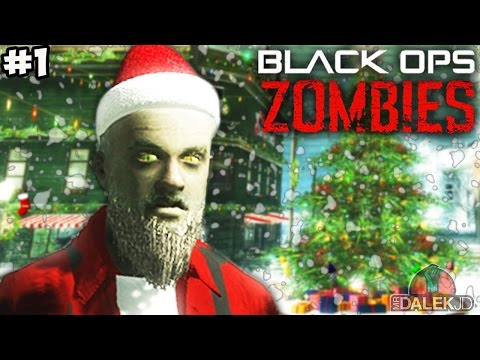 """CHRISTMAS SPECIAL! - Call of Duty Zombies """"SNOWGLOBE"""" Custom Map #1! (COD Zombies)"""