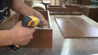 Мебельные ящики.  Быстрый способ сборки мебельных ящиков.(Practical advices of furniture-maker.