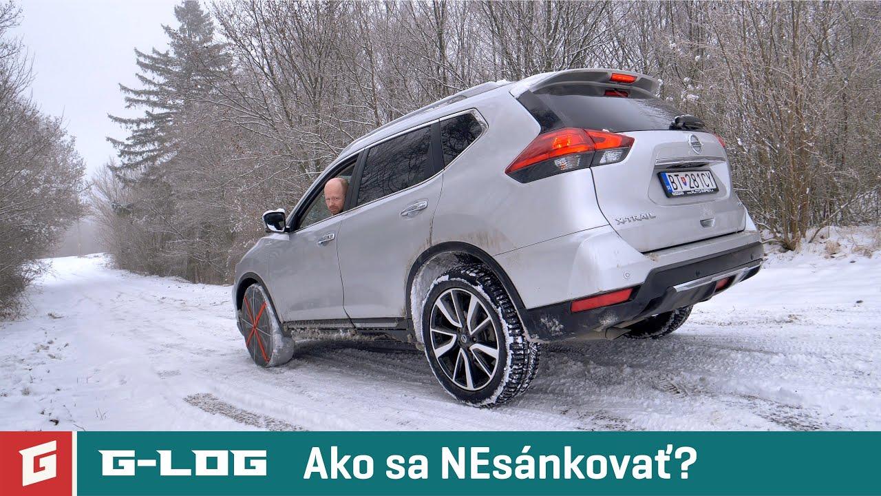 GLOG#68 - Nissan X-Trail a snehová dilema v kopci - GARÁŽ.TV