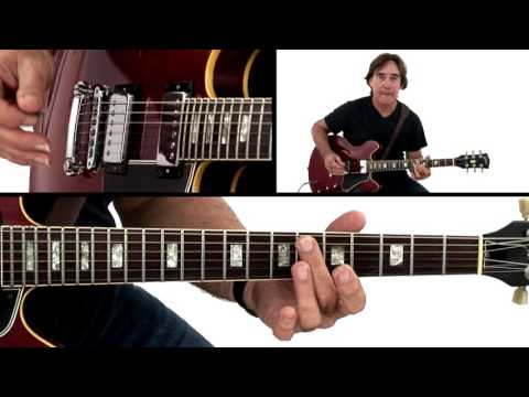 Jazz Rock Guitar Lesson - C minor 6/8 Vamp: 2 Breakdown - Carl Verheyen