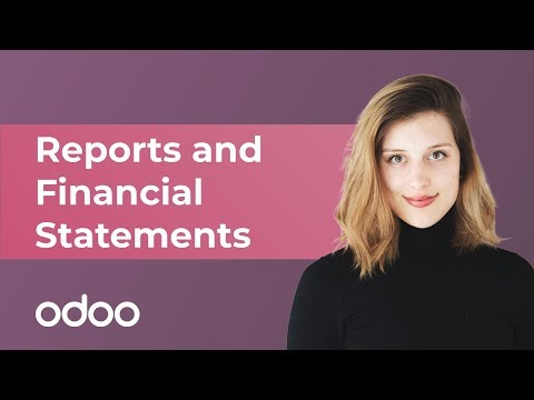 Reports and Financial Statements | Odoo Accounting
