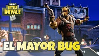 THE BIGGEST BUG OF FORTNITE!! KILL THROUGH THE WALLS IN TORTUOSOS TUNELES!!