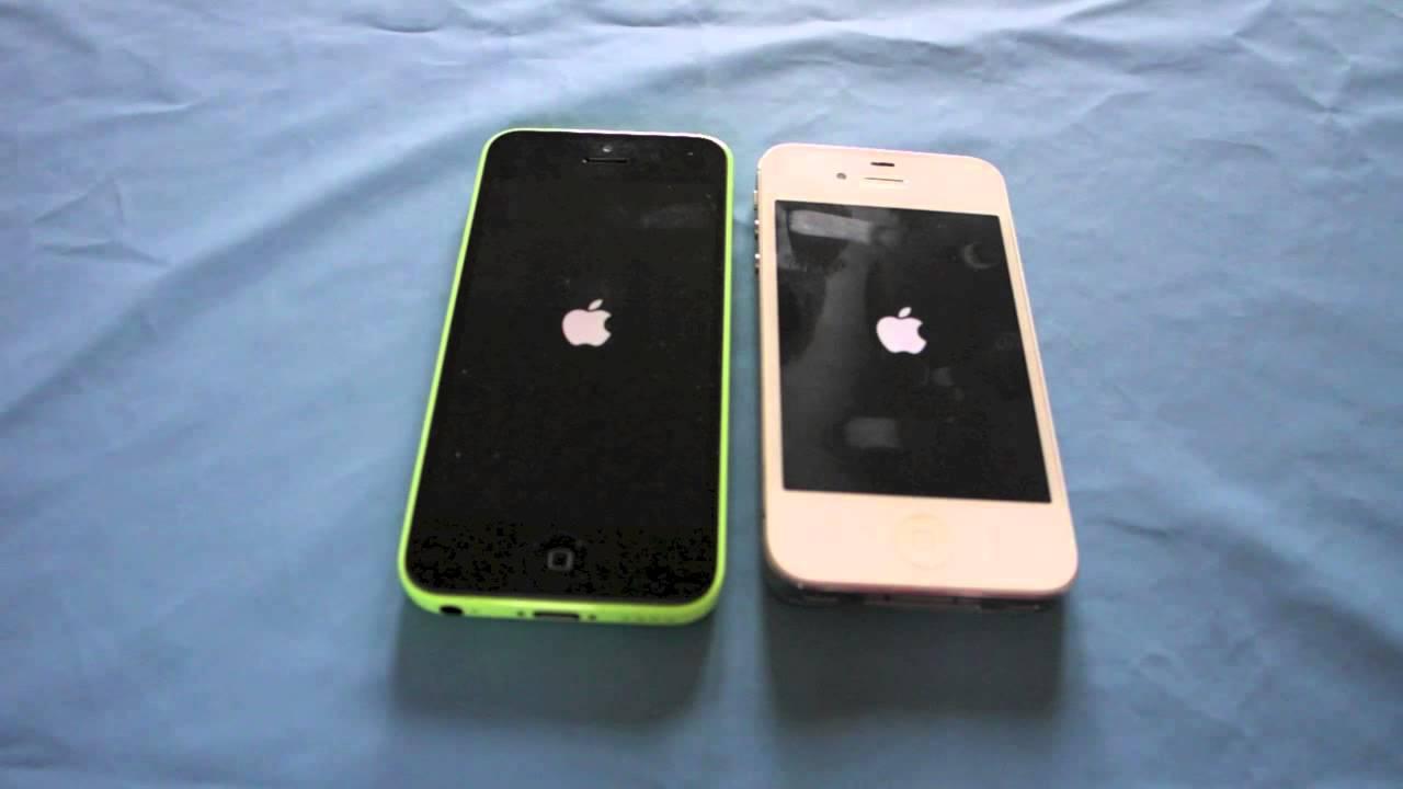 iphone 4s vs iphone 5c francais