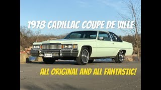 1978 Cadillac Coupe De Ville - Video Test Drive with Chris Moran