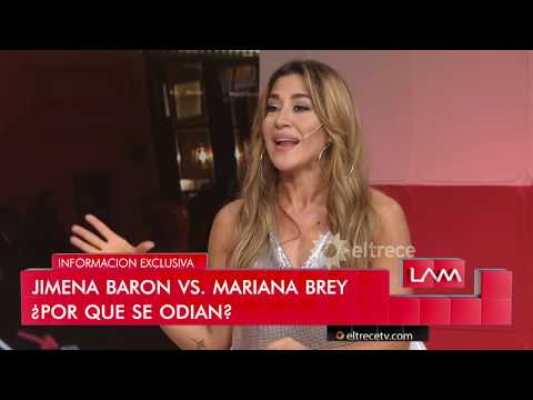 Jimena Barón explicó por qué se separó de Rodrigo Romero