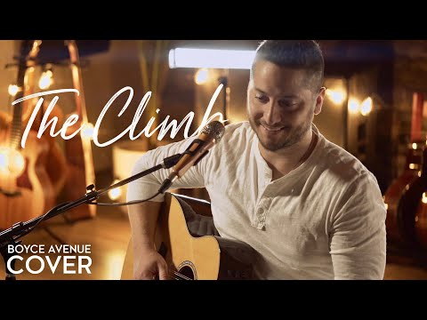The Climb - Miley Cyrus (Boyce Avenue acoustic cover) on Spotify & Apple