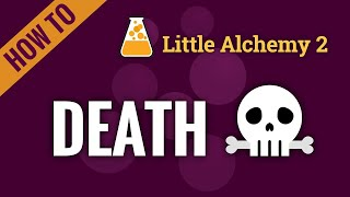 How to make DEĄTH in Little Alchemy 2