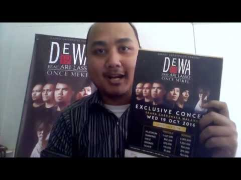 Exclusive Concert Dewa 19 feat Ari Lasso and Once Mekel