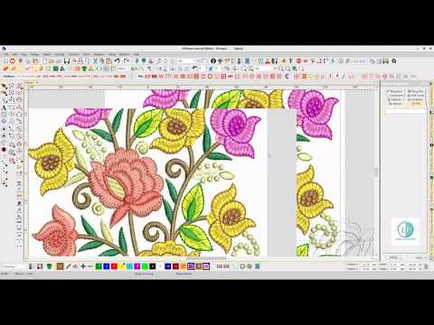 Embroidery Designing Punching