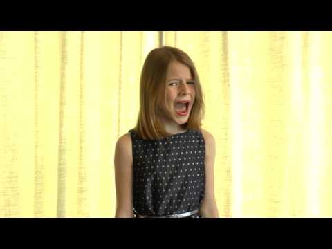 """""""Queen of the Night"""" - The Magic Flute - Mozart (cover Marjolein, 10yo)"""