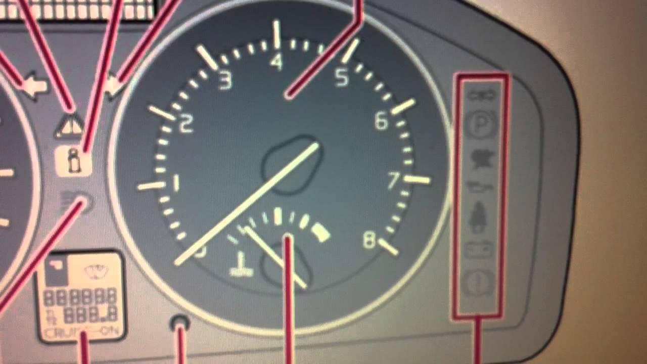 Volvo C70 Dashboard Warning Lights Symbols Diagnostic Code