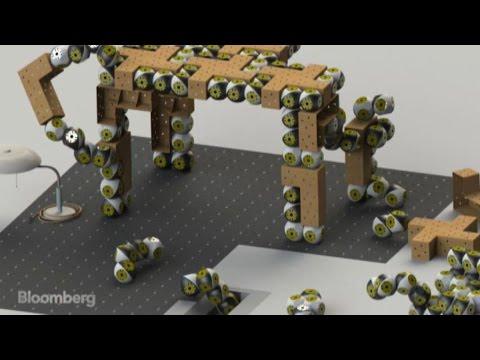 On-Demand Robot Furniture That Assembles Itself