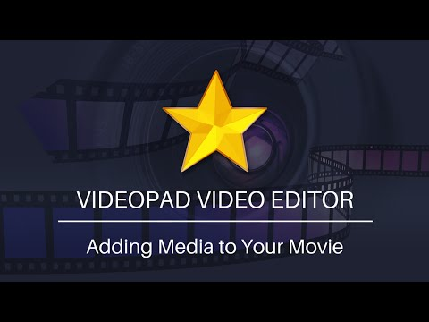 Add Video, Audio, and Image Files to VideoPad
