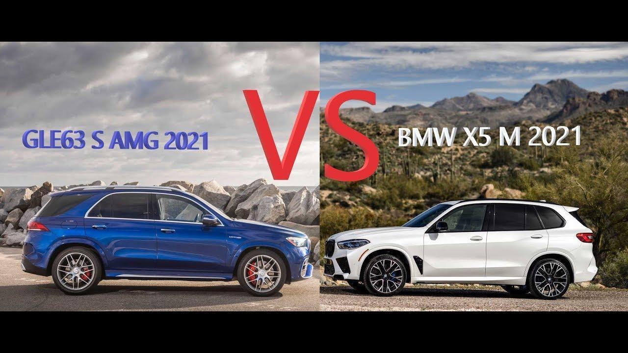 2021 bmw x5 m vs mercedes amg gle 63 s 2021 part 1 - youtube