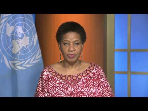 Dr. Phumzile Mlambo-Ngcuka, UN Women Executive Director and Fanelo Ya Mina Institute Board Member