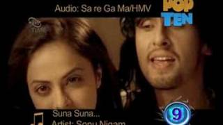 Latest Indian Pop Ten(10) on MyTime - Vol 8