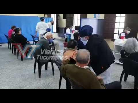 Inició la vacunación contra COVID-19 para mayores de 60 años en el interior de Tucumán